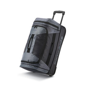 "Samsonite Andante 2 22"" Wheeled Duffle in the color Riverrock/Black."