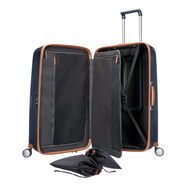 """Samsonite Black Label Lite-Cube DLX Spinner Large (31"""") in the color Midnight Blue."""