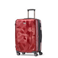 Samsonite Pursuit DLX Spinner Medium in the color Abstract Ruby.