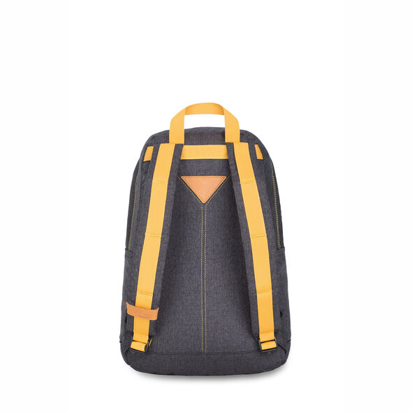 High Sierra HS78 Tear Drop Backpack in the color Black/Gold.