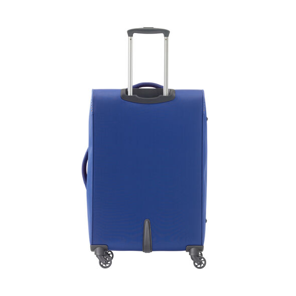 American Tourister Bayview Spinner Medium in the color Imperial Blue.