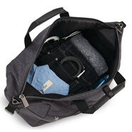 Samsonite Modern Utility Weekender Duffle in the color Charcoal Heather/Charcoal.