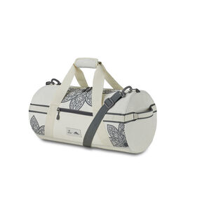Life Is Good by High Sierra Cargo Duffel Mandala in the color Putty White/ Slte Grey Mandala.