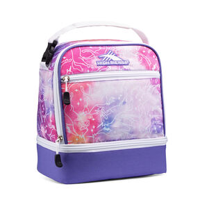 High Sierra Stacked Compartment in the color Unicorn Clouds/Lavender/White.
