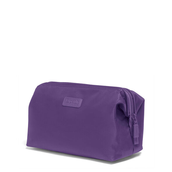 """Lipault Travel Accessories 12"""" Toiletry Kit in the color Light Plum."""