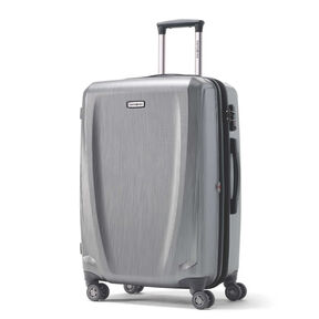 Samsonite Pursuit DLX Spinner Large in the color Silver.