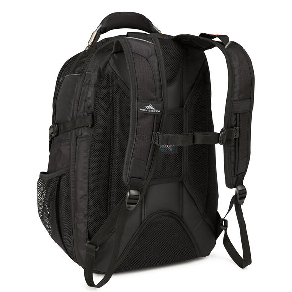 High Sierra XBT TSA Backpack in the color Black.