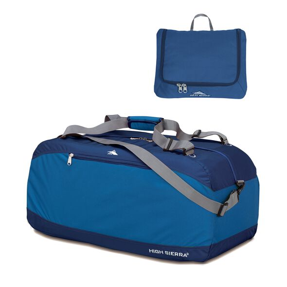 "High Sierra Pack-N-Go 36"" Pack-N-Go Duffle in the color Pacific/Blue Velvet."