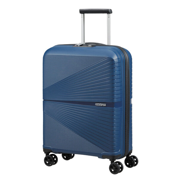 American Tourister Airconic Spinner 3 Piece Set (CCO, Med, Lrg) in the color Midnight Navy.