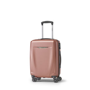 Samsonite Pursuit DLX Plus Spinner Carry-On in the color Rose Gold.