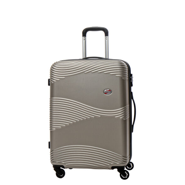 Canadian Tourister Coastal Spinner Medium in the color Light Gold.