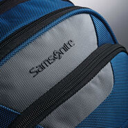 Samsonite UBX Commuter Backpack in the color Grey/Slate Blue.