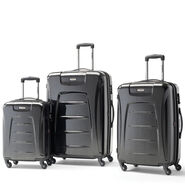 Samsonite Winfield 3 Fashion 3 Piece Set in the color Charcoal Brushed.