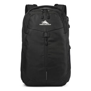 High Sierra Swerve Pro Backpack in the color Black.