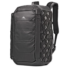 High Sierra OTC Convertible Duffel Backpack in the color Black/Black/Black.