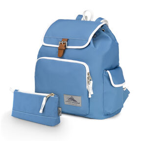 High Sierra Elly Backpack in the color Mineral/White.