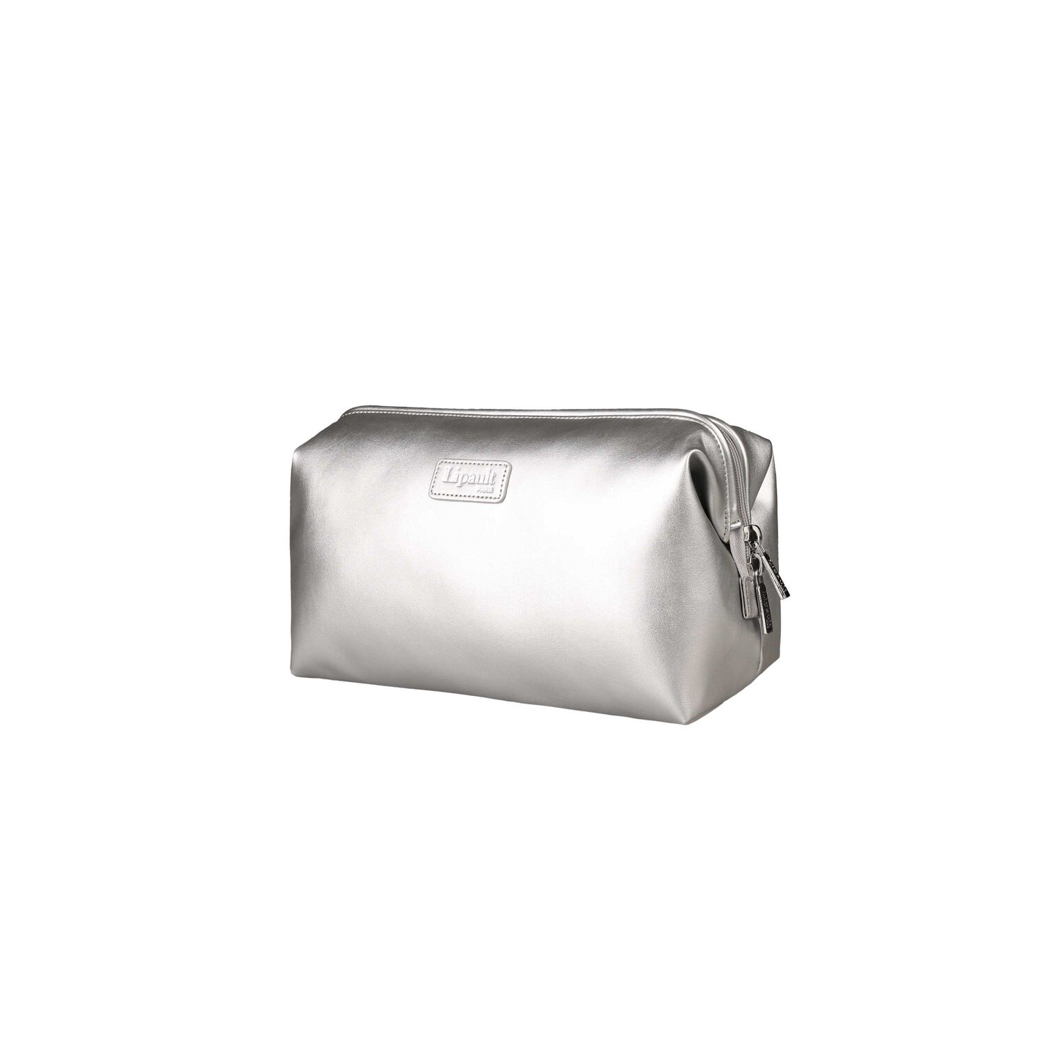 Lipault Miss Plume Toiletry Kit in the color Silver. 5556abcd07a57