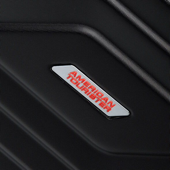 American Tourister Air Force 1 Spinner Medium in the color Galaxy Black.