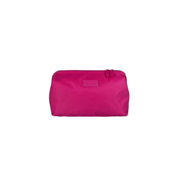 "Lipault Travel Accessories 12"" Toiletry Kit in the color Tahiti Pink."