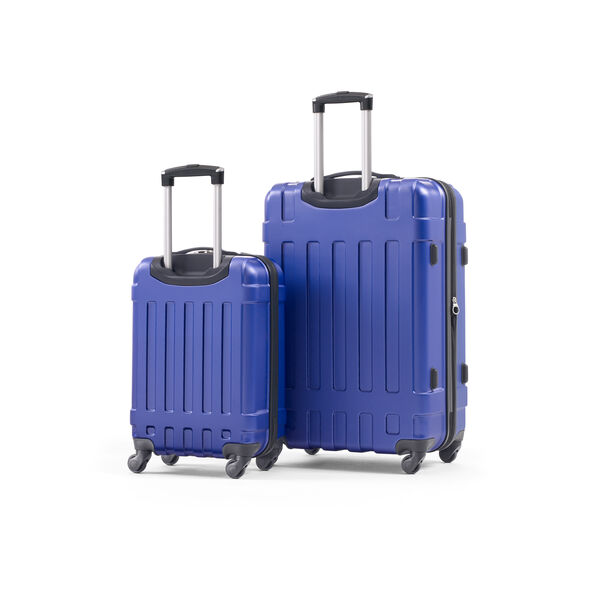 Samsonite Kruz Spinner 2 Piece Set (CO/Lrg) in the color Blue.