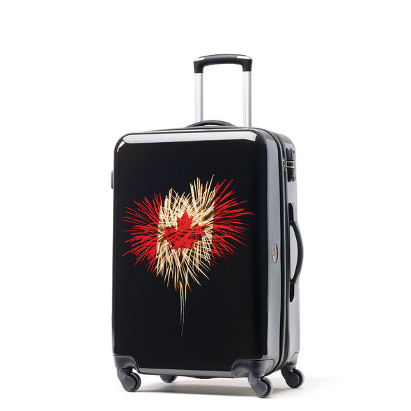 Canadian Tourister Collection Spinner Medium in the color Celebration.