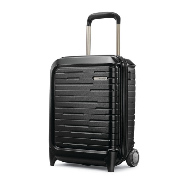 Samsonite Silhouette 16 Underseater (2 Wheeled) in the color Obsidian Black.