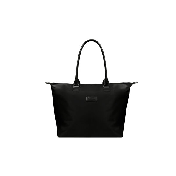 Lipault Lady Plume Shopping Tote L in the color Black.