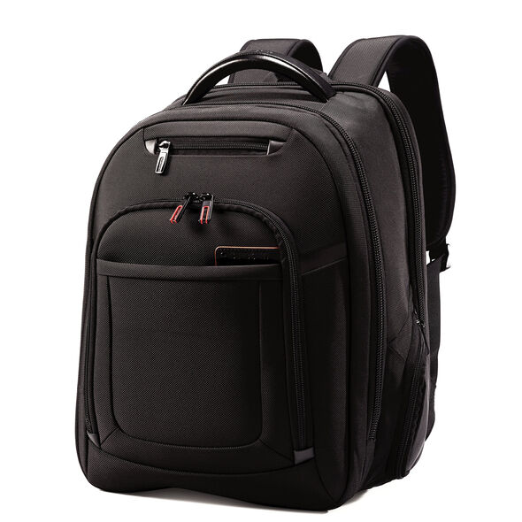 Samsonite Pro 4 DLX Perfect Fit Laptop Backpack in the color Black.