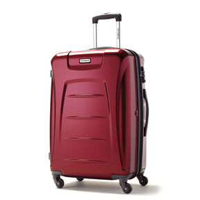 Samsonite Winfield 3 Spinner Large in the color Dark Red.