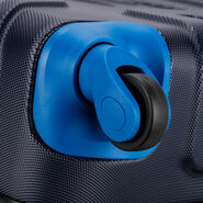 High Sierra Tephralite Spinner Carry-On in the color Maritime/Vivid Blue.