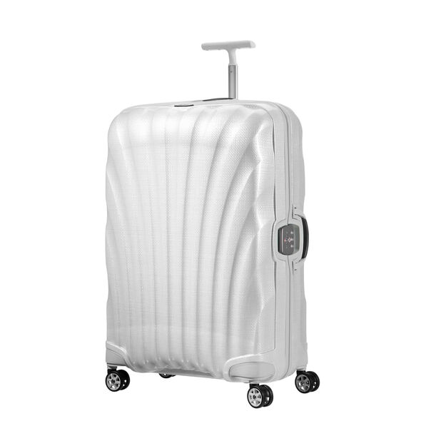 "Samsonite Black Label Lite-Locked Spinner Large (28"") in the color Off White."