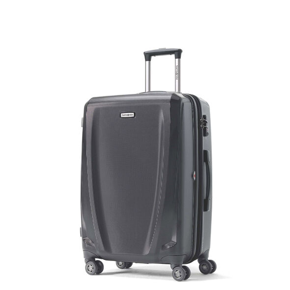 Samsonite Pursuit DLX Spinner Medium in the color Black.
