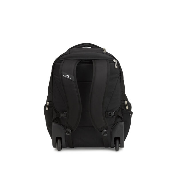 High Sierra Endeavor Wheeled Backpack in the color Black.