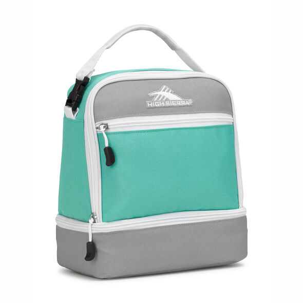 High Sierra Stacked Compartment in the color Aquamarine/Ash/White.