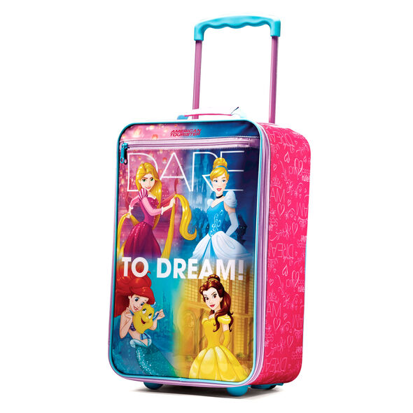 "American Tourister Disney 18"" Softside Upright in the color Princess."