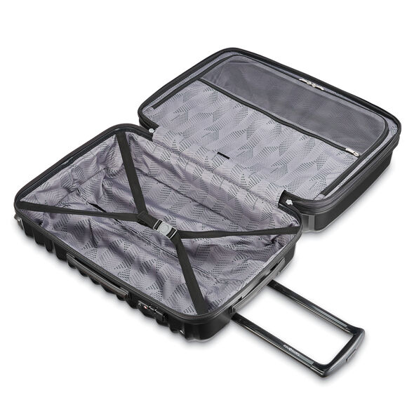 Samsonite Ziplite 4 Spinner Medium in the color Brushed Anthracite.