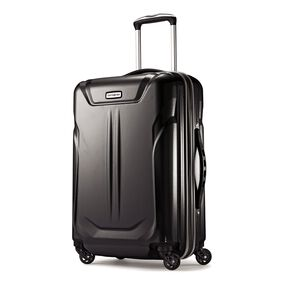 "Samsonite Lift2 20"" Hardside Widebody Spinner in the color Black."