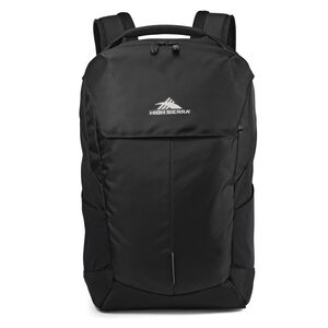 High Sierra Access Pro Backpack in the color Black.