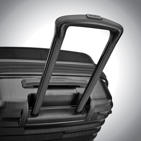 Samsonite Ziplite 4 Spinner Carry-On in the color Brushed Anthracite.