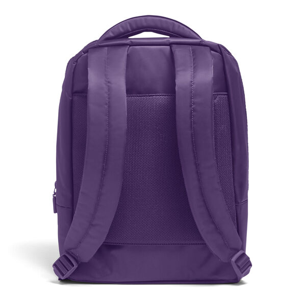 Lipault Plume Business Laptop Backpack M in the color Light Plum.