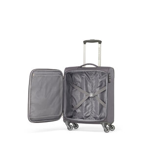 American Tourister Bayview NXT Spinner Carry-On in the color After Dark.