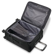 Samsonite Silhouette 16 Spinner Carry-On in the color Obsidian Black.