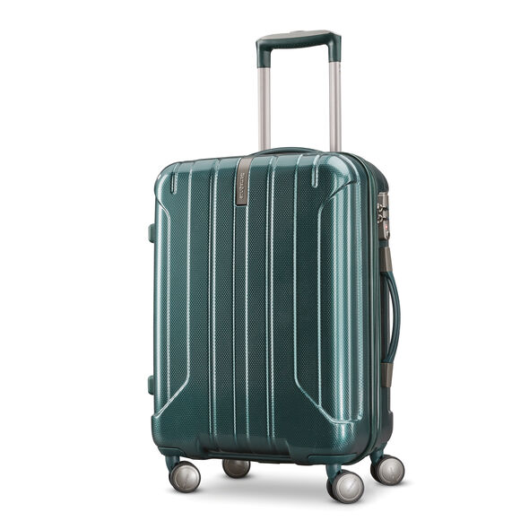 Samsonite On Air 3 Spinner 3 Piece Set (CCO, Med, Lrg) in the color Emerald Green.