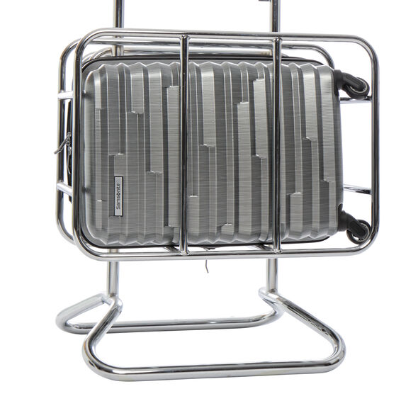 Samsonite Ziplite 4 3 Piece Set (CO/Med/Lrg) in the color Silver Oxide.