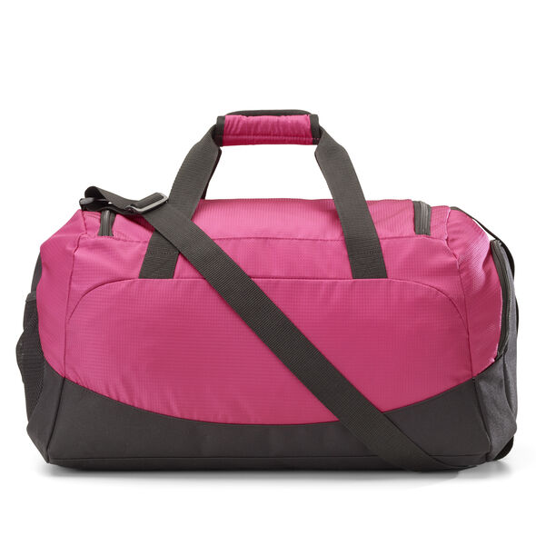 "Samsonite Campus Gear Cooper Duffle 20"" in the color Pink."