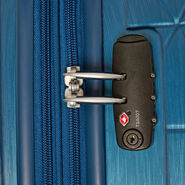 American Tourister Edge Spinner 3 Piece Set (CO/Med/Lrg) in the color Midnight Navy.