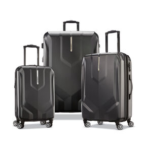 Samsonite Opto PC 2 Spinner 3 Piece Set (CCO, Med, Lrg) in the color Black.