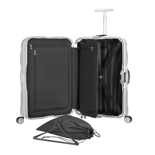 Samsonite Black Label Lite-Locked Spinner Medium in the color Off White.