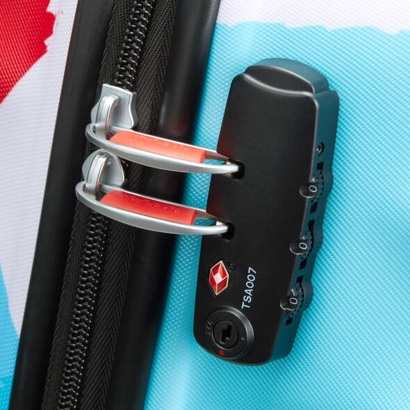 American Tourister Wavebreaker-Disney Spinner Medium in the color Mickey Close Up.