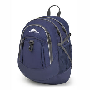 High Sierra Fatboy Backpack in the color True Navy/Mercury.